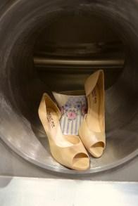 Natalie Rox Schuhe beige Peeptoes Leder www.viennafashionwaltz.wordpress.com