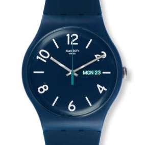 Swatch BACKUP BLUE um 55€