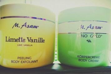 5#M.Asam Limette Vanille peeling und Body Cream