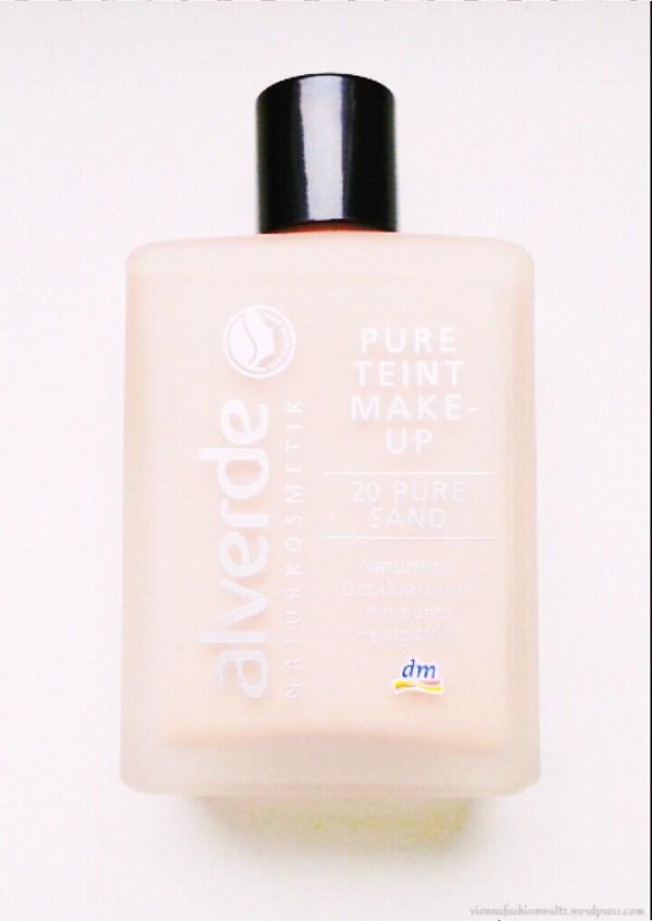Alverde Pure Teint Make up