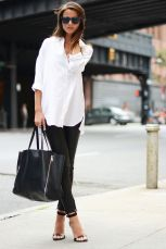 Picture via Pinterest White Shirt Blouse https-_www.pinterest.com_pin_86483255320642821_