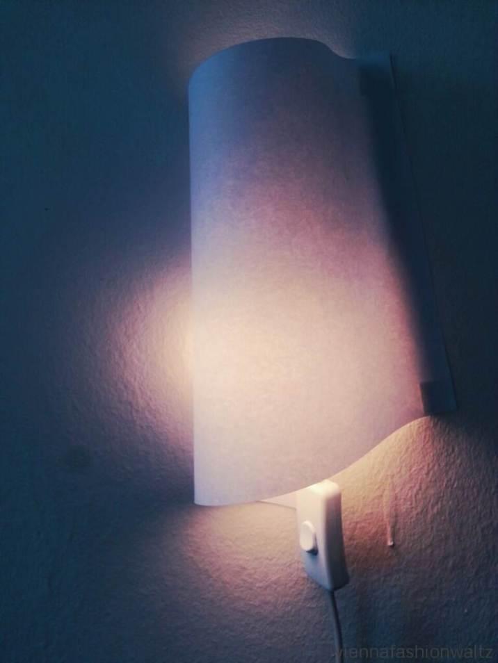 DIY - Wandlampe aus einem Blatt Papier