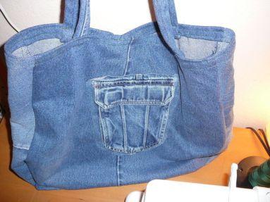 DIY - Denim Bag Ideas - We love Denim & Chanel