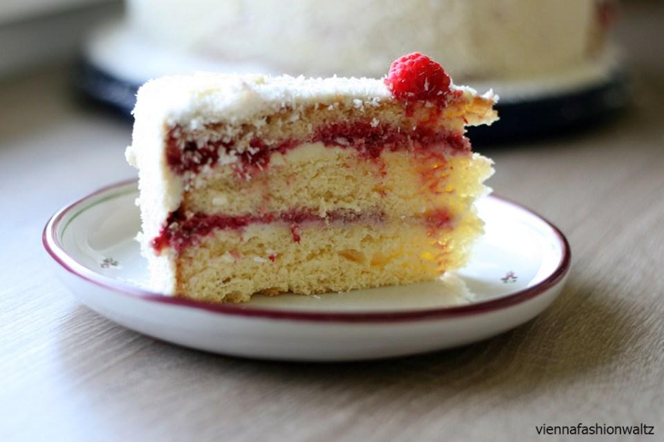 Himbeer-Gin-Torte