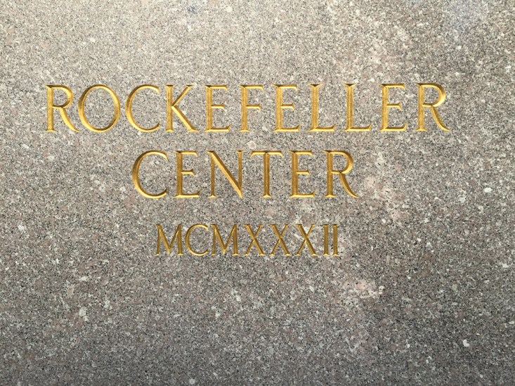 NYC Rockefeller Center Top of the Rock3