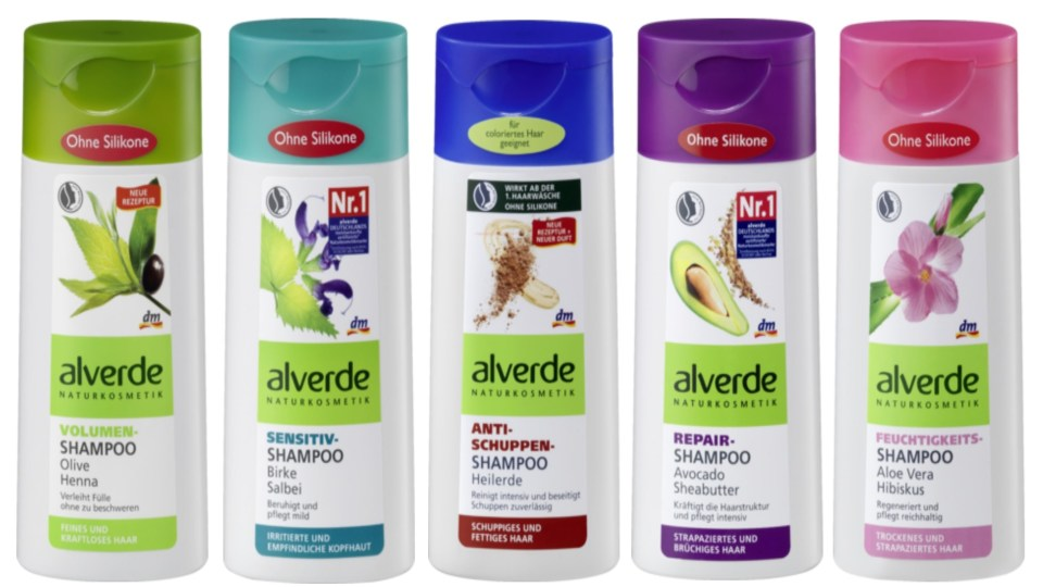Alverde Shampoo