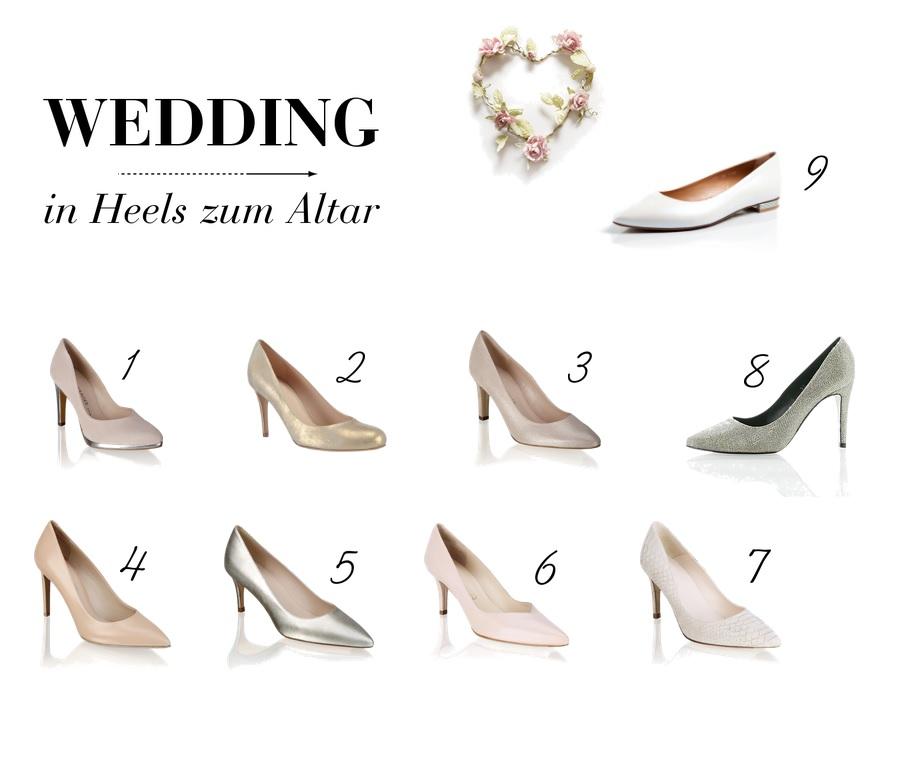Hochzeitstagebuch: 8 High Heels für den großen Tag | lifestyle blog vienna fashion waltz wedding hochzeit diary pumps heels altar