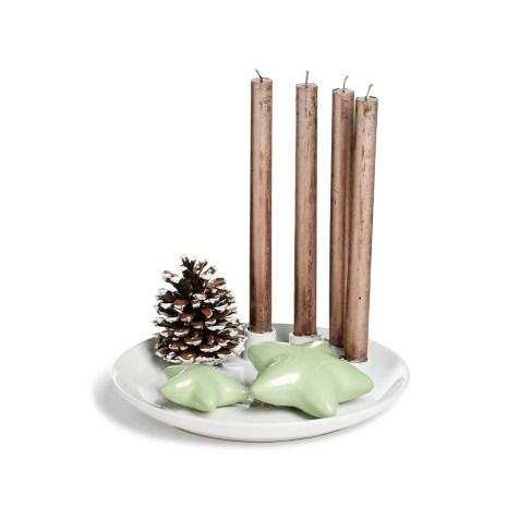 Weihnachtlich dekorierter Teller!