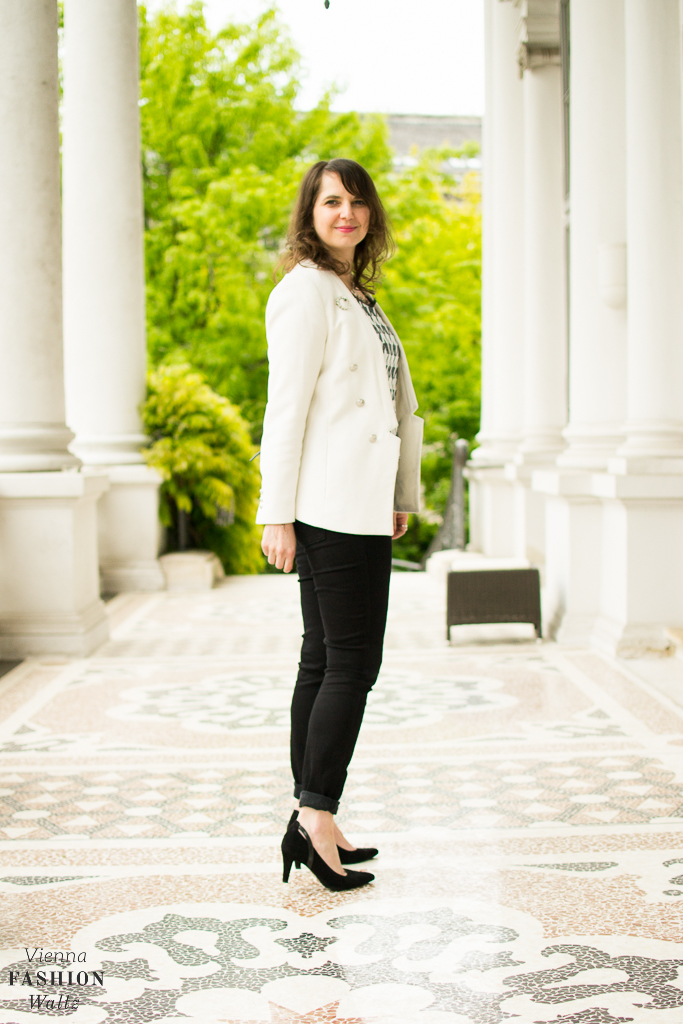 Outfit Black & White Closed Peter Kaiser Fashion Blog www.ViennaFashionWaltz.com-4