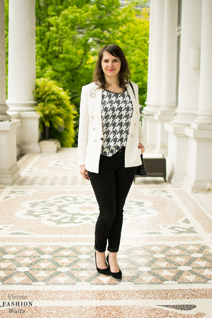 Outfit Black & White Closed Peter Kaiser Fashion Blog www.ViennaFashionWaltz.com-8