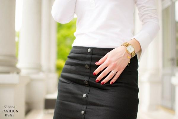 Outfit Black & White Wolford Esprit Fashion Blog www.ViennaFashionWaltz.com-26