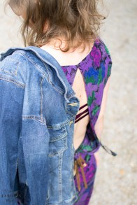 How to wear ... Bandana Denim Look mit Flower Power!