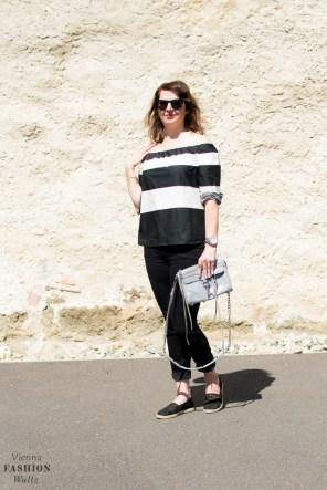 Lifestyleblog Wien Österreich www.viennafashionwaltz.com off shoulder bluse zara jeans closed bag rebecca minkoff espadrilles deichmann (9 von 18)