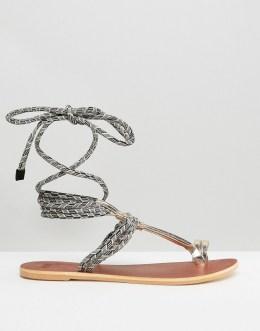 sandale zum schnüren, asos