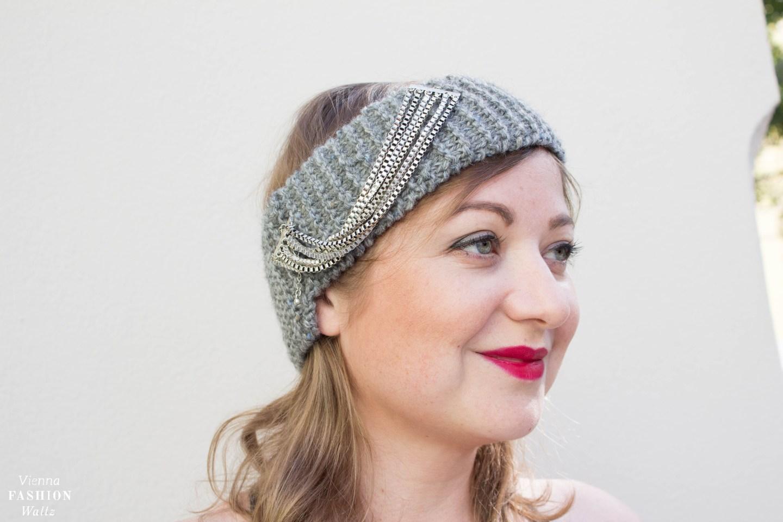 DIY Chanel Headband | Stirnband | Kostenlose Strickanleitung