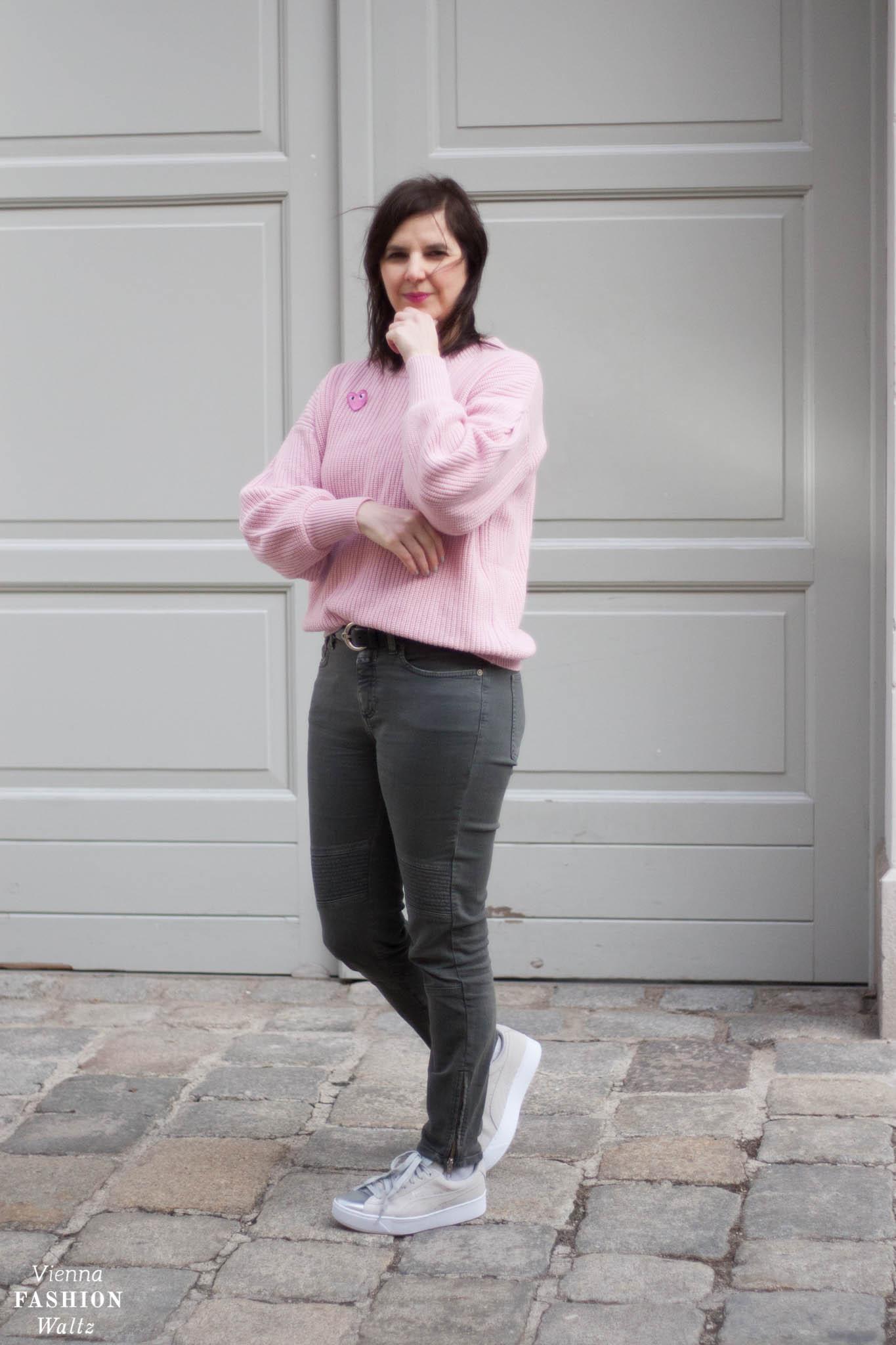 Strickpulli & Jeans Pinterest Deichmann Puma Sneakers