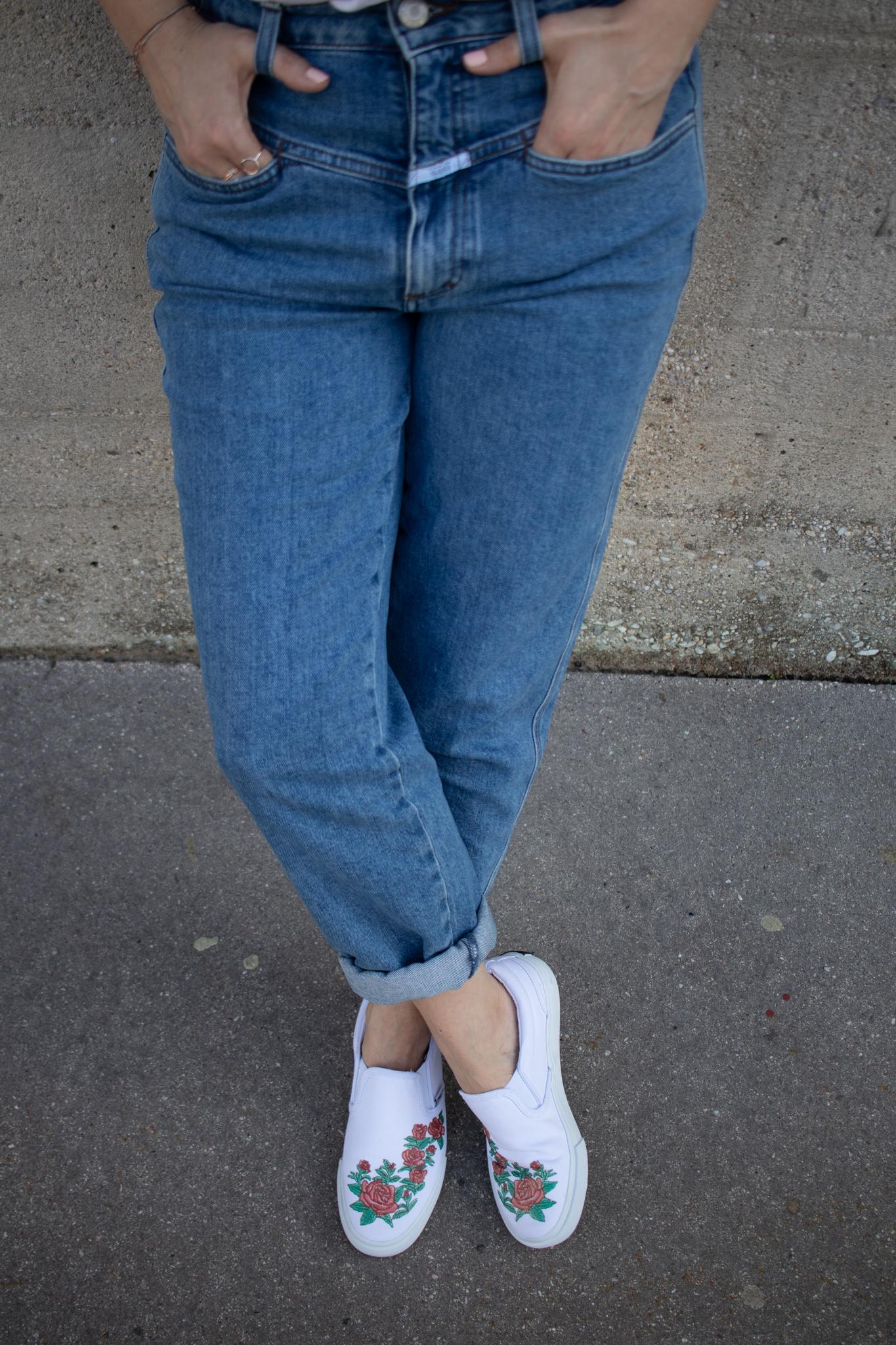 Fila Trend Sneakers für den Sommer, die auch bei Hitze super sind! Deichmann white Sneakers, closed jeans pedal pusher, ootd, streetstyle vienna_2019