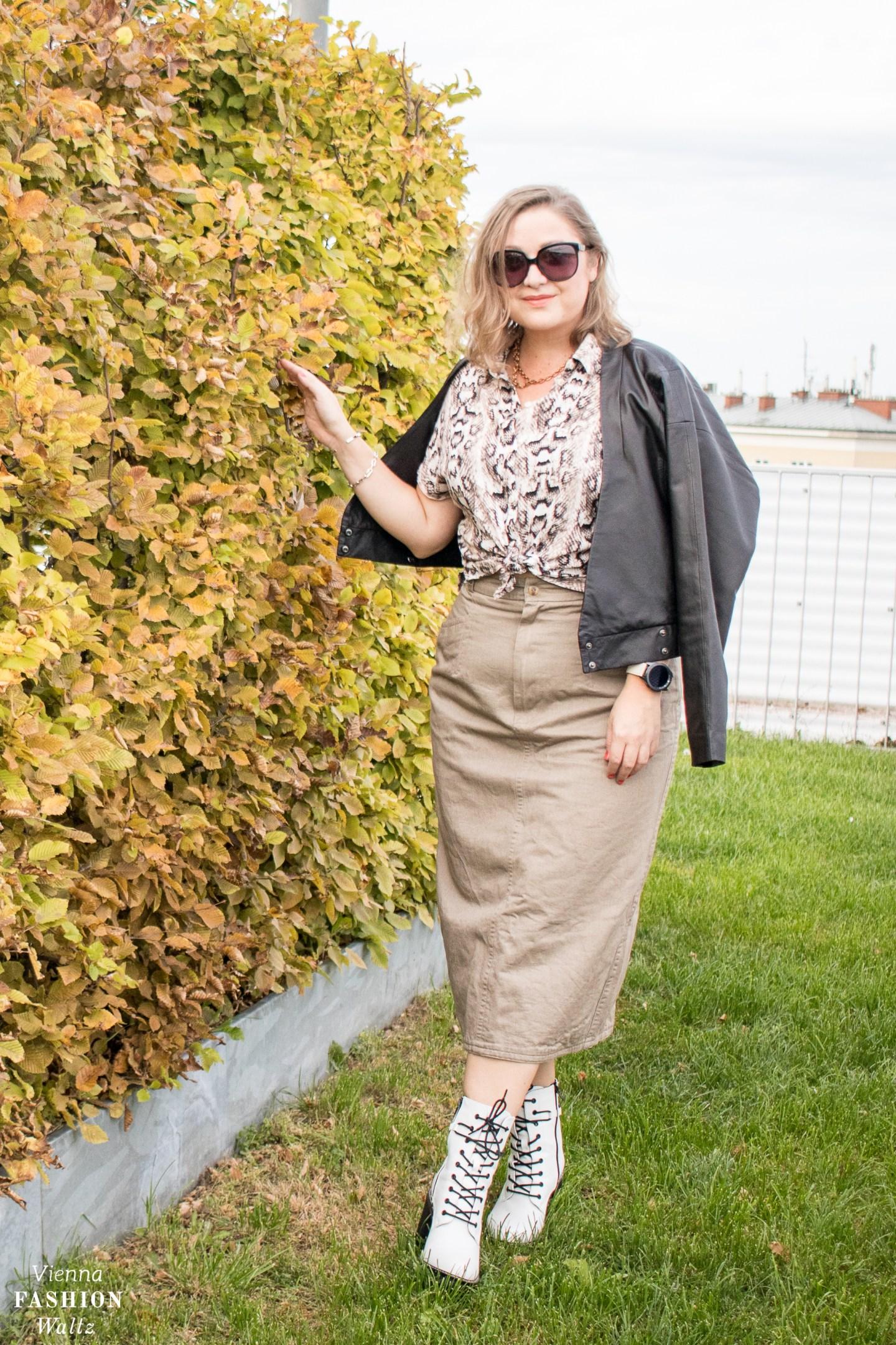 Herbst Outfit und die besten Trends für den Übergang, stylishe Ideen für einen coolen Look