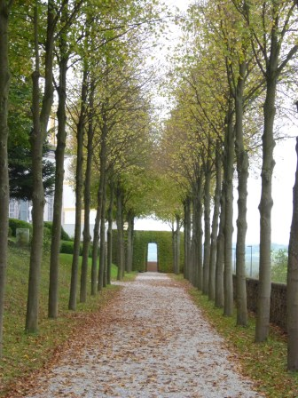 Melk abbey garden