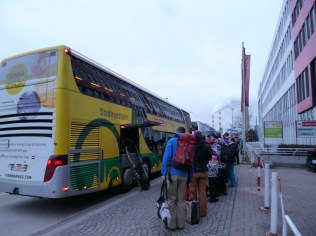 Bus zum Schnee (U3 Erdberg)