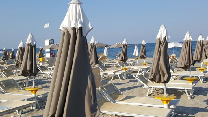 Ein Beach-Wochenende in Milano Marittima