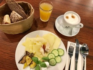 Frühstücken