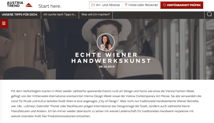 Blogpost Austria Trend Hotels