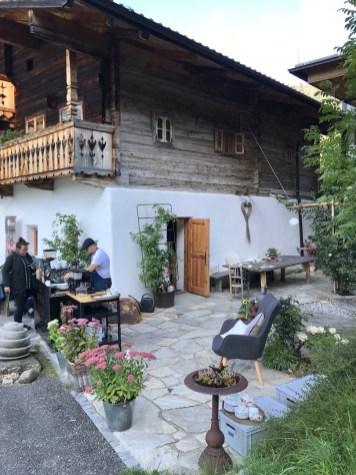 Alpine Küche