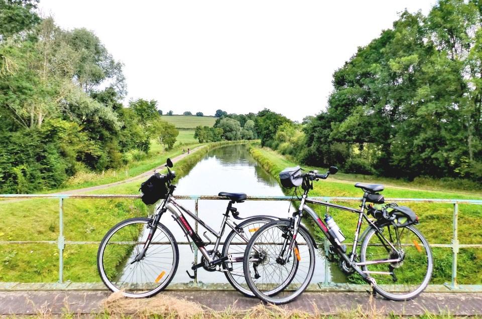 Canal du Nivernais à vélo