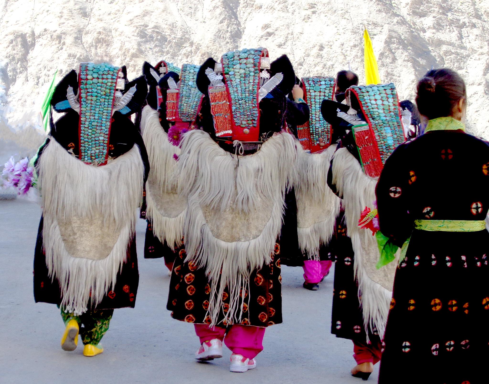 Fête religieuse à Lamayuru Ladakh