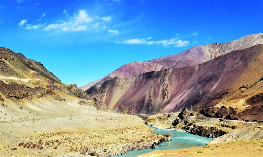 Montagne dans l'Himalaya