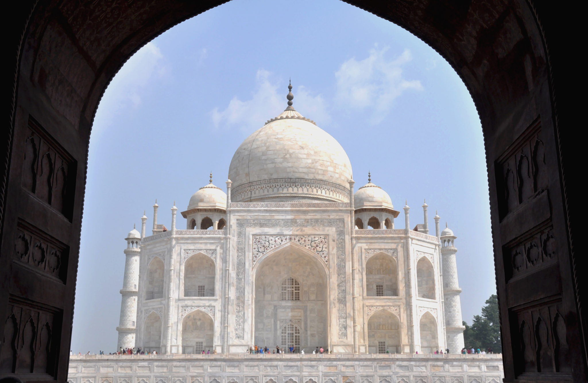 Taj Mahal, la perle de l'Inde