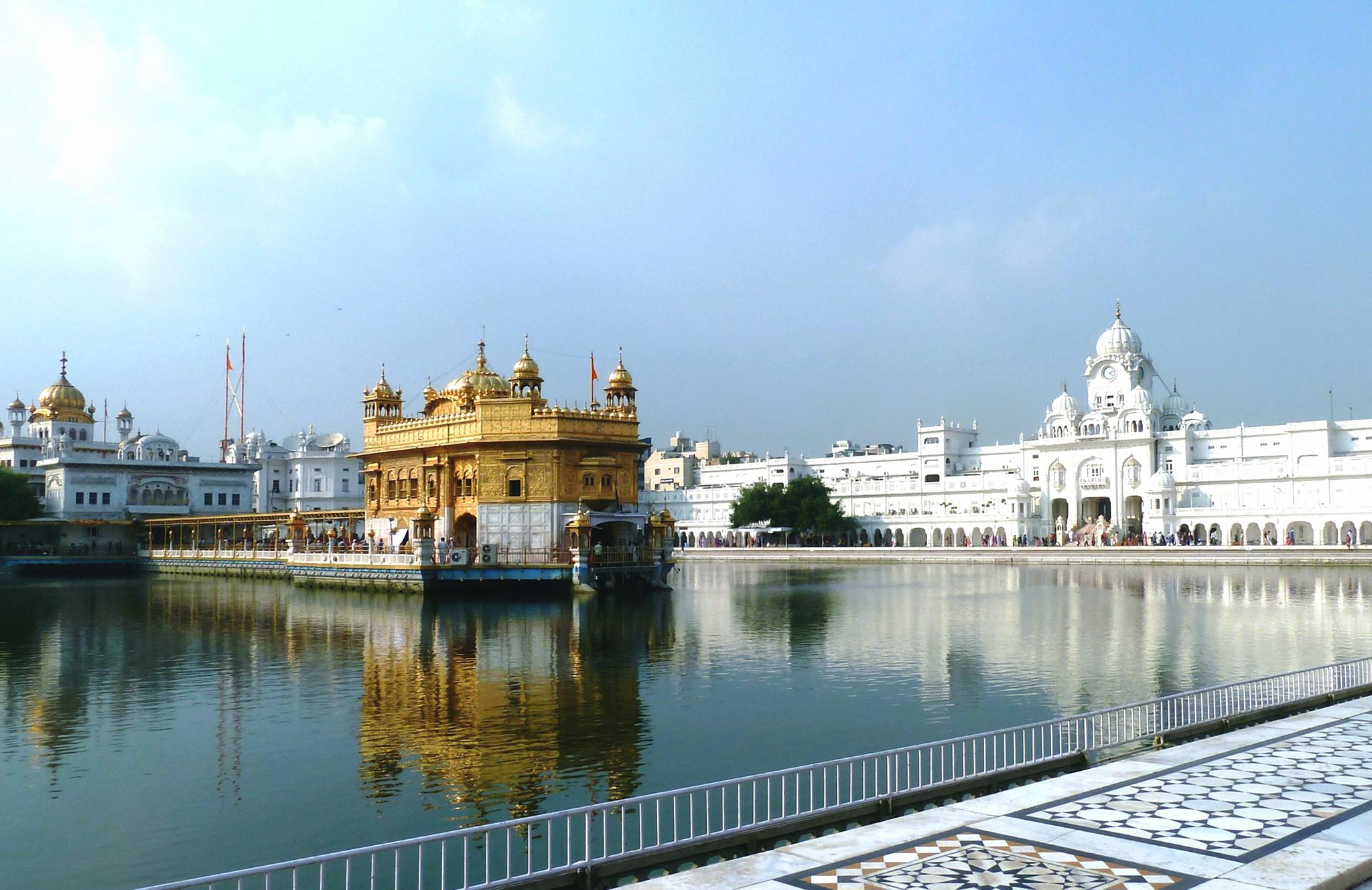 Sanctuaire des sikhs à Amritsar