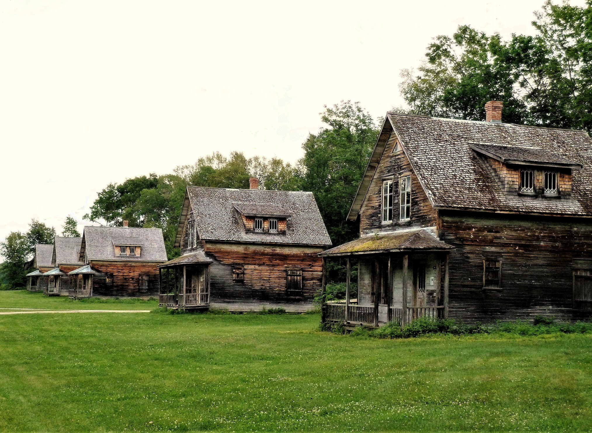 Village fantôme de Val Jalbert