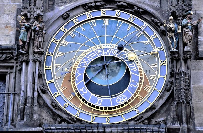 Cadran horloge astronomique à Prague