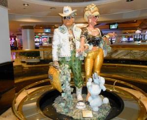 Harrah's casino sculptures