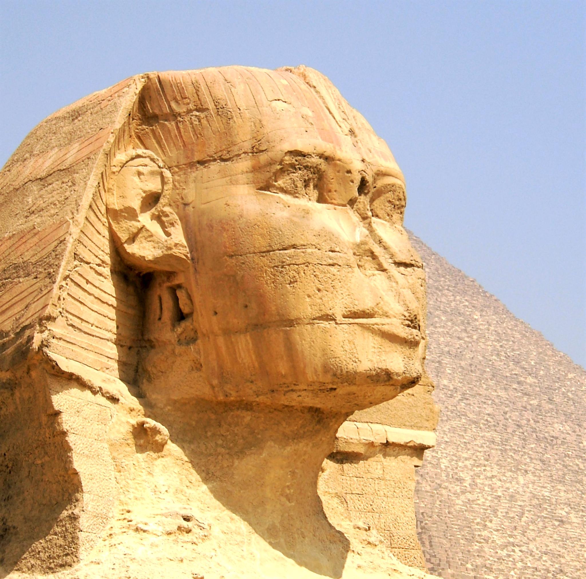Sphinx plateau de Gizeh