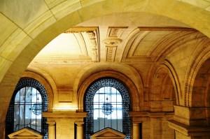 intérieur bibliothèque New York City