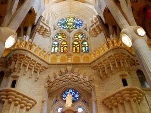 vitraux Sagrada Familia Barcelone