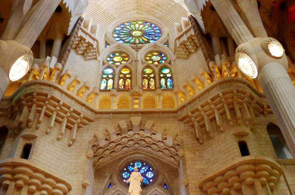 L'emblématique Sagrada Familia de Barcelone