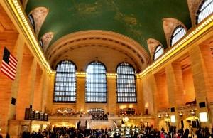 intérieur de la gare New York City
