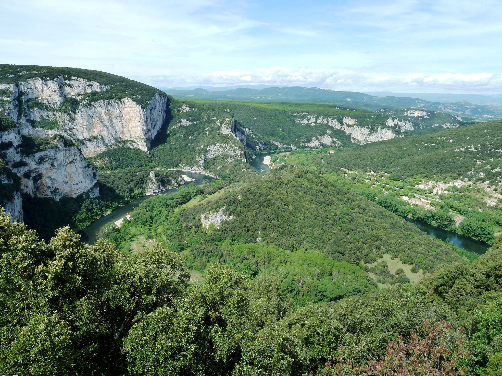 Plateau des gorges de l'Ardèche