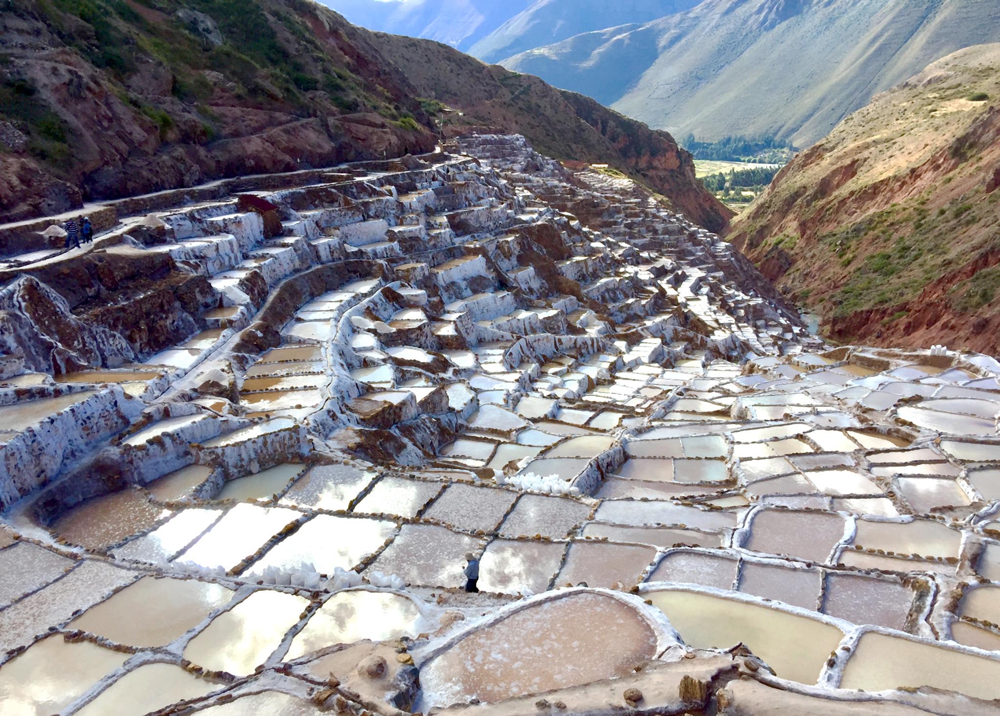 Mines de sel au Pérou