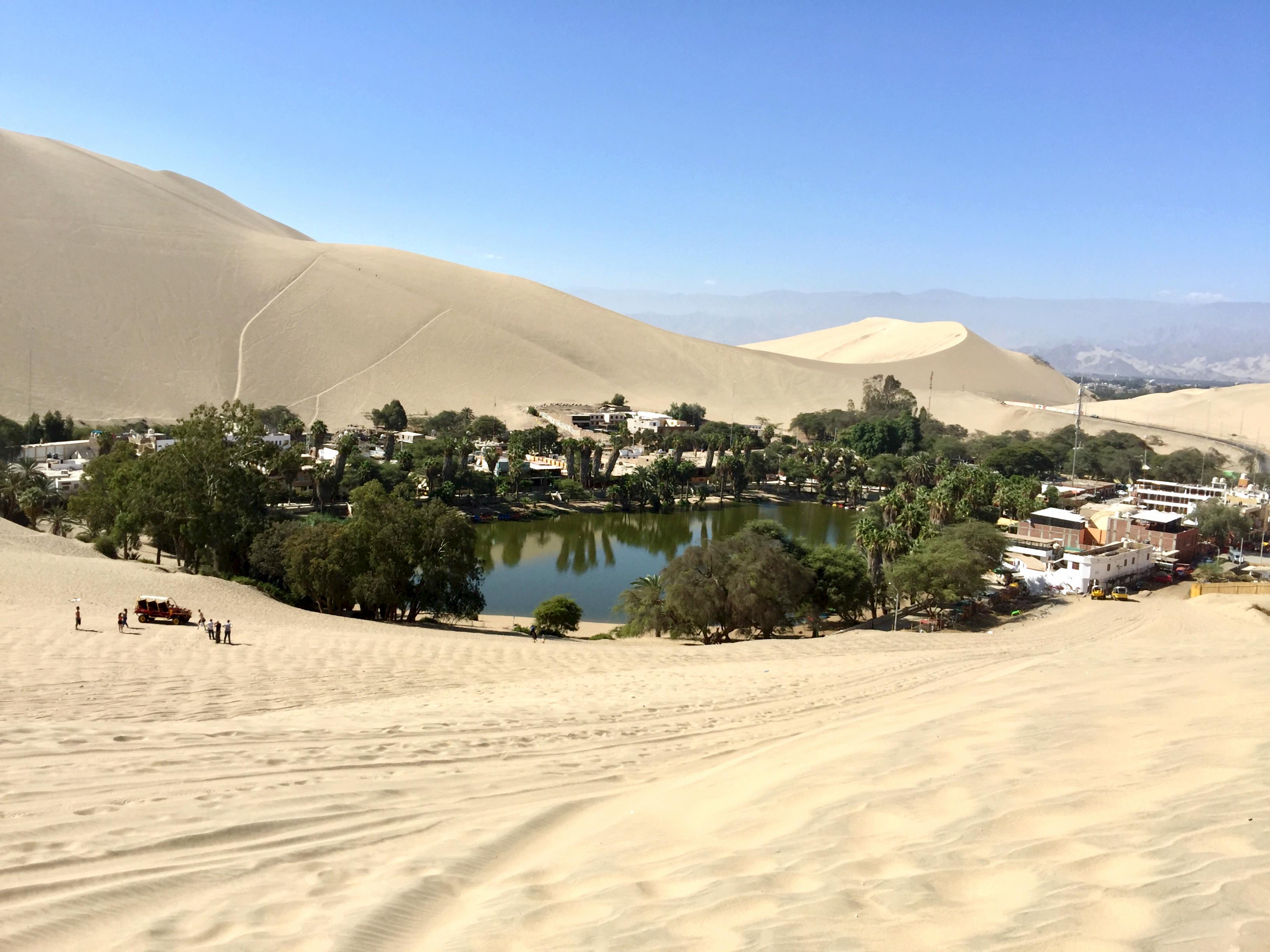 Oasis au Pérou