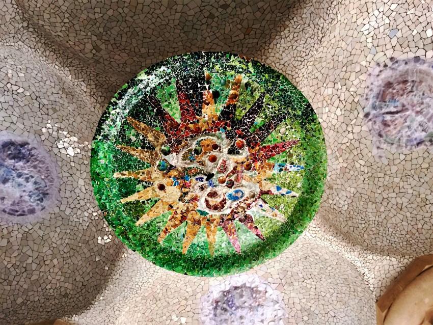 Médailon de mosaïque