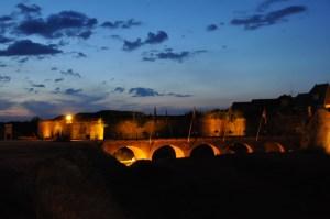 Pont de Rocroy la nuit