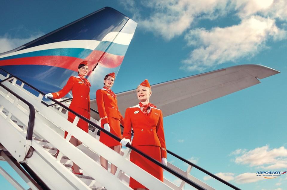 Le sens du service selon Aeroflot.