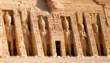 Temple égyptien Abou Simbel