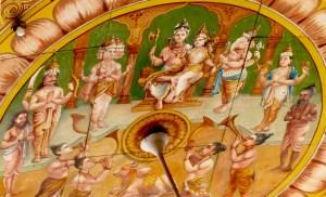 Palais de Mysore plafond