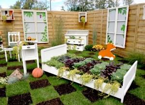 folie Flore chambre végétale